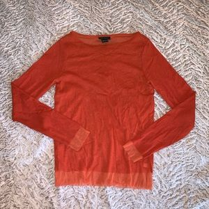 The Limited Orange Top
